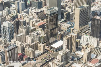 Trust Bank Building is a 140 meter tall building  in the Central Business District of Johannesburg, South Africa built in 1970